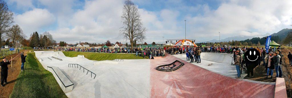Skatepark Füssen Opening