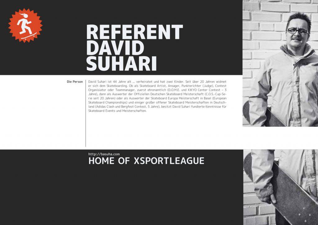 Referent David Suhari
