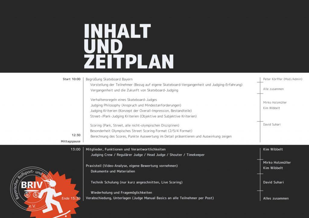 Inhalt und Zeitplan (vorab, nicht verbindlich)