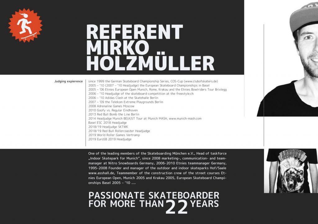 Referent Mirko Holzmüller
